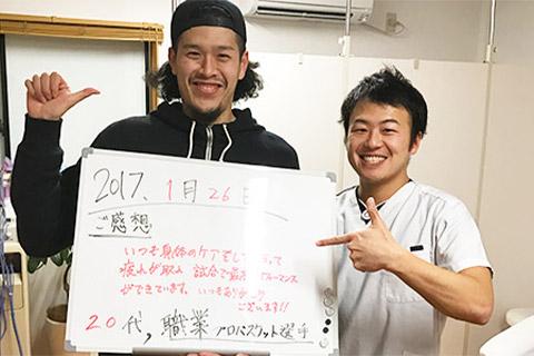上杉翔選手【プロバスケット選手】